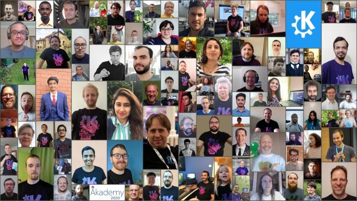 Akademy 2020 group photo